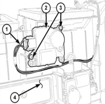 Dodge Ram Mode Door Actuator — Ricks Free Auto Repair