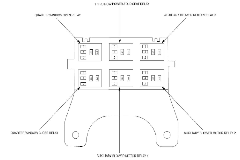 2010 Ford Explorer Fuse Diagram — Ricks Free Auto Repair