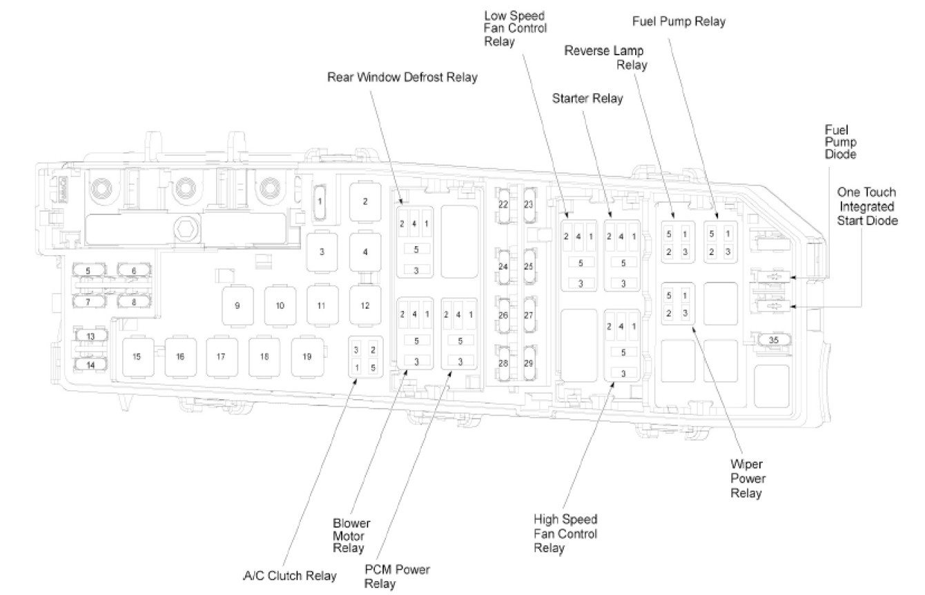 ford transit mk7 rear light wiring diagram