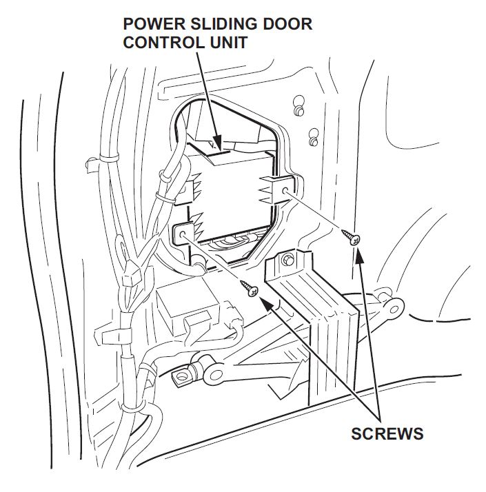 Honda Odyssey Sliding door doesn't work — Ricks Free Auto