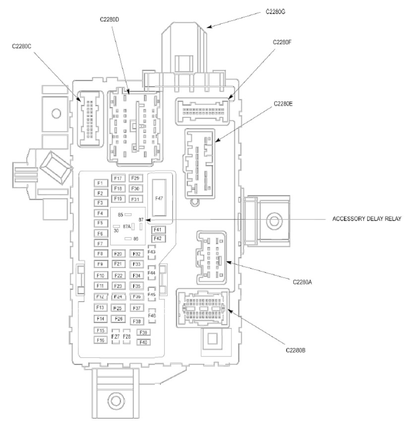 [DIAGRAM] 2001 F150 Fuse Diagram FULL Version HD Quality
