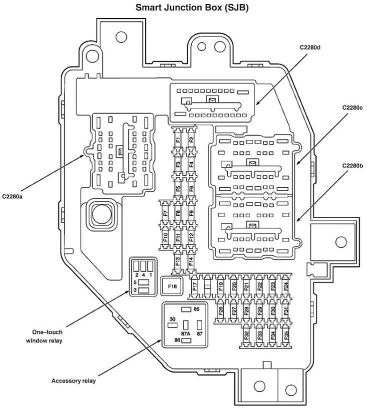 2006 Ford Ranger Fuse Diagram — Ricks Free Auto Repair
