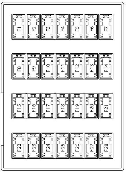 2007 Ford Fusion Fuse Box Diagram : fusion, diagram, Fusion, Diagrams, Ricks, Repair, Advice, Automotive, How-To
