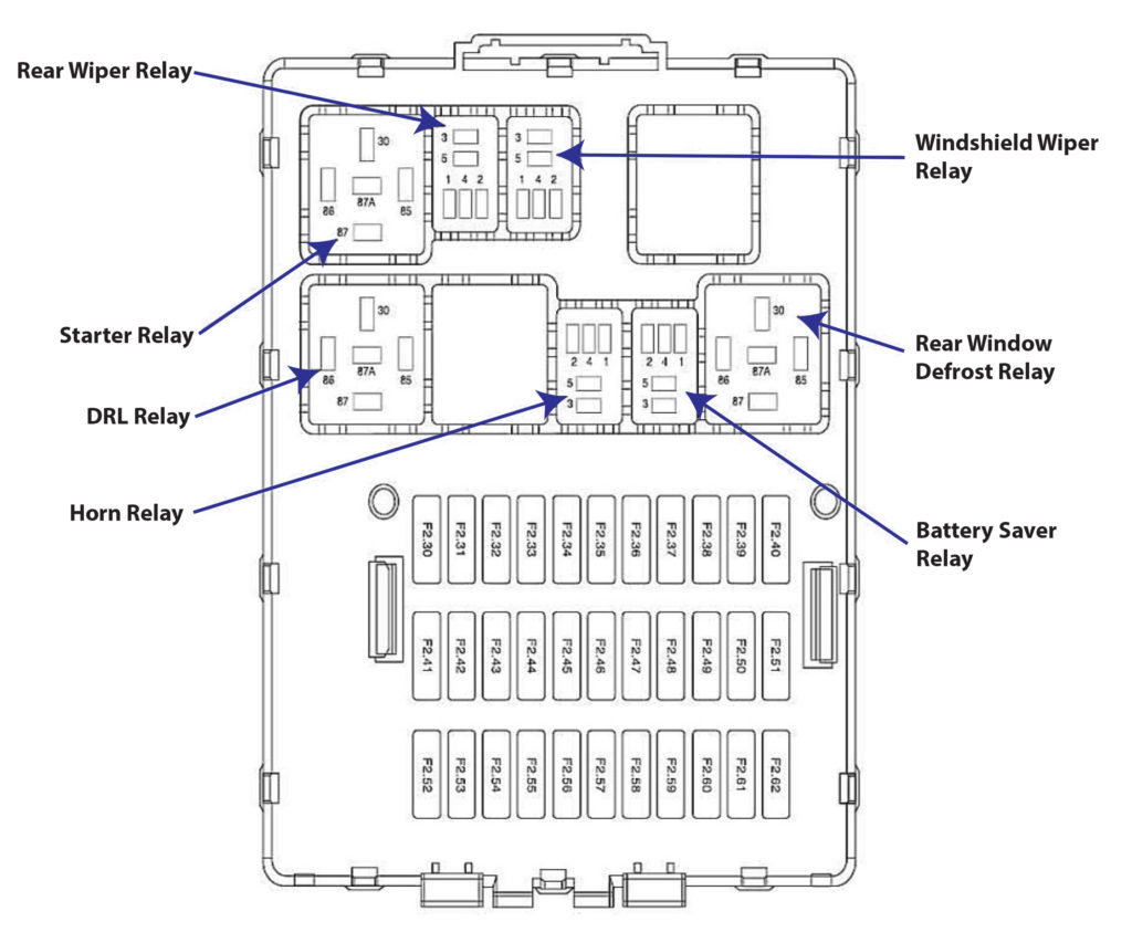[DIAGRAM] 2010 Ford Focus Se Fuse Box Diagram FULL Version