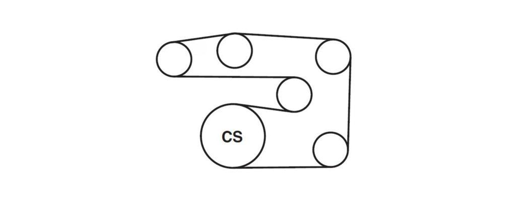 2015 Chevrolet Serpentine Belt Diagrams — Ricks Free Auto