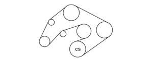 2005 Ford Crown Victoria Serpentine Belt Diagram — Ricks