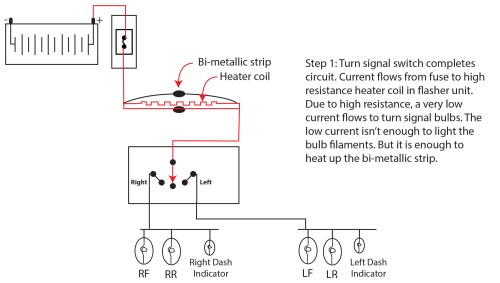 small resolution of how turn signal flasher works