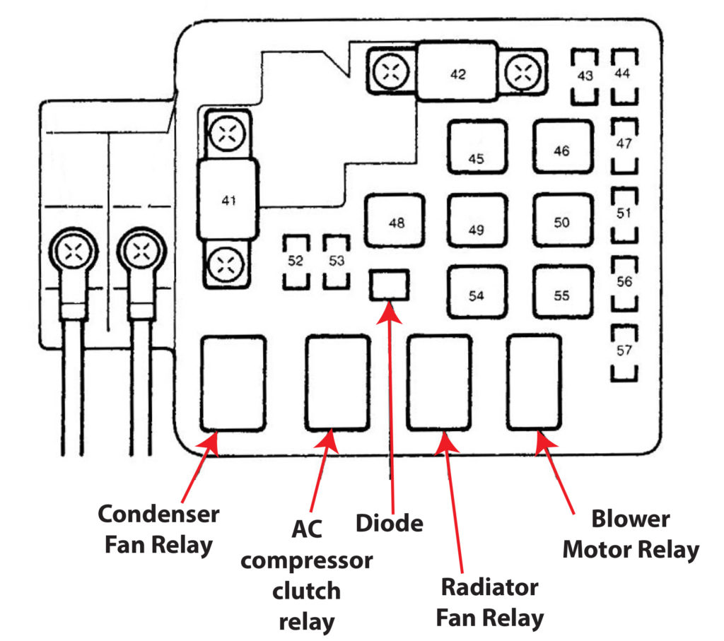 Honda Fuse Diagram
