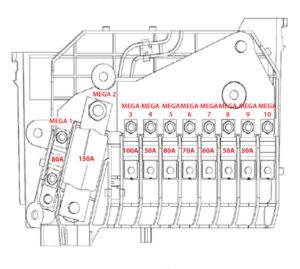 2016 Ford Escape Fuse Diagrams — Ricks Free Auto Repair