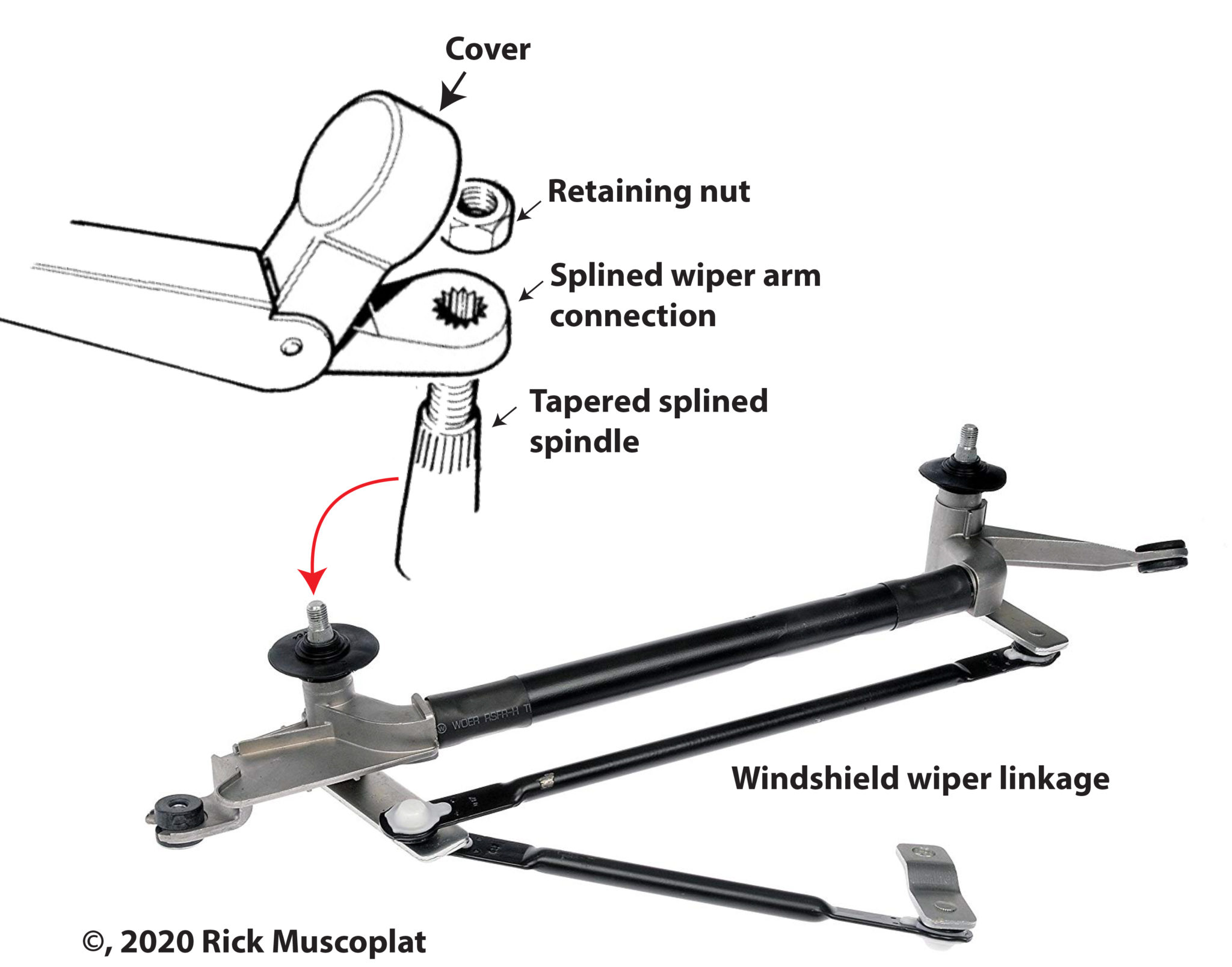 Windshield wipers not working — Ricks Free Auto Repair