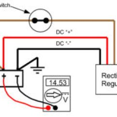 Kz1000 Wiring Diagram Trailer Battery Recitifer Regulator Signal Wires Rick S Motorsport Electrics Blog To Illustrate Here A Showing Full Wave Rectifier With Wire Operating Properly