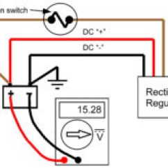 Rectifier Wiring Diagram 2003 Polaris Predator 500 Recitifer Regulator Signal Wires Rick S Motorsport Electrics Blog Here Is The Same Circuit With An Oxidized Or Worn Out Contact In Switch Causing A 75 Volt Drop Between Battery And On Wire