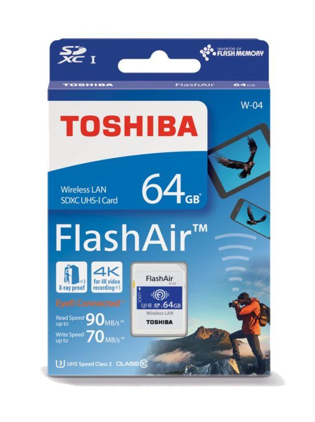Toshiba FlashAir W04 review