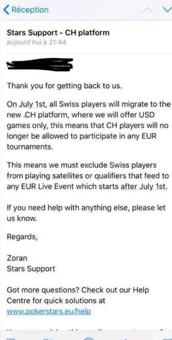 Schweizer Pokerclient Pokerstars