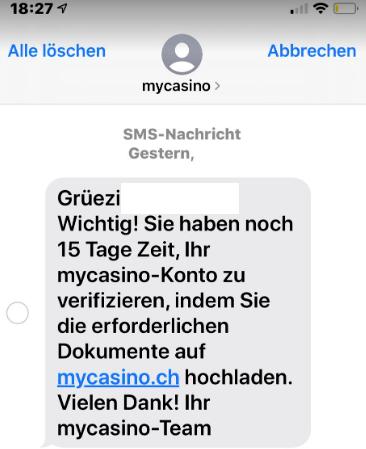 Agressive Werbung der Schweizer Online Casinos