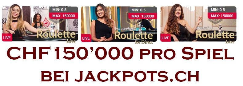 150'000 Franken pro Spiel