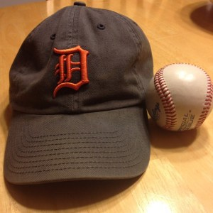 Tigers cap with ball
