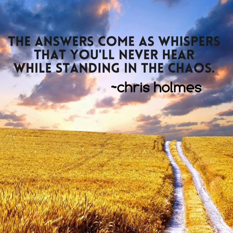 Answers Whispers Chris Holmes