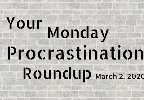 Monday procrastination roundup: Just give it away