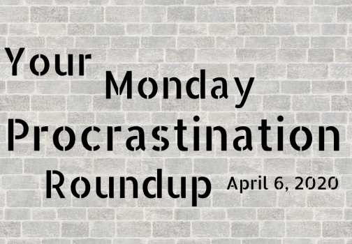 Monday procrastination roundup: The very first time