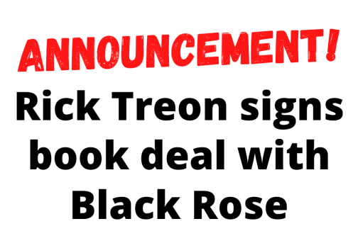 Rick Treon signs book deal with Black Rose