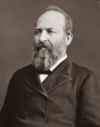 James Garfield 1831 - 1881 20th President of the United States