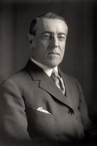 Woodrow Wilson 1856 - 1924 28th President of the United States