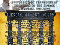 Rick Tyler Speaking at University of Tennessee, Knoxville – 5/28/19