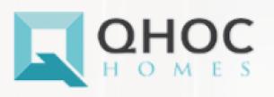 QHOC HOMES Logo , buiilder for WIndswept Pines Moyock NC