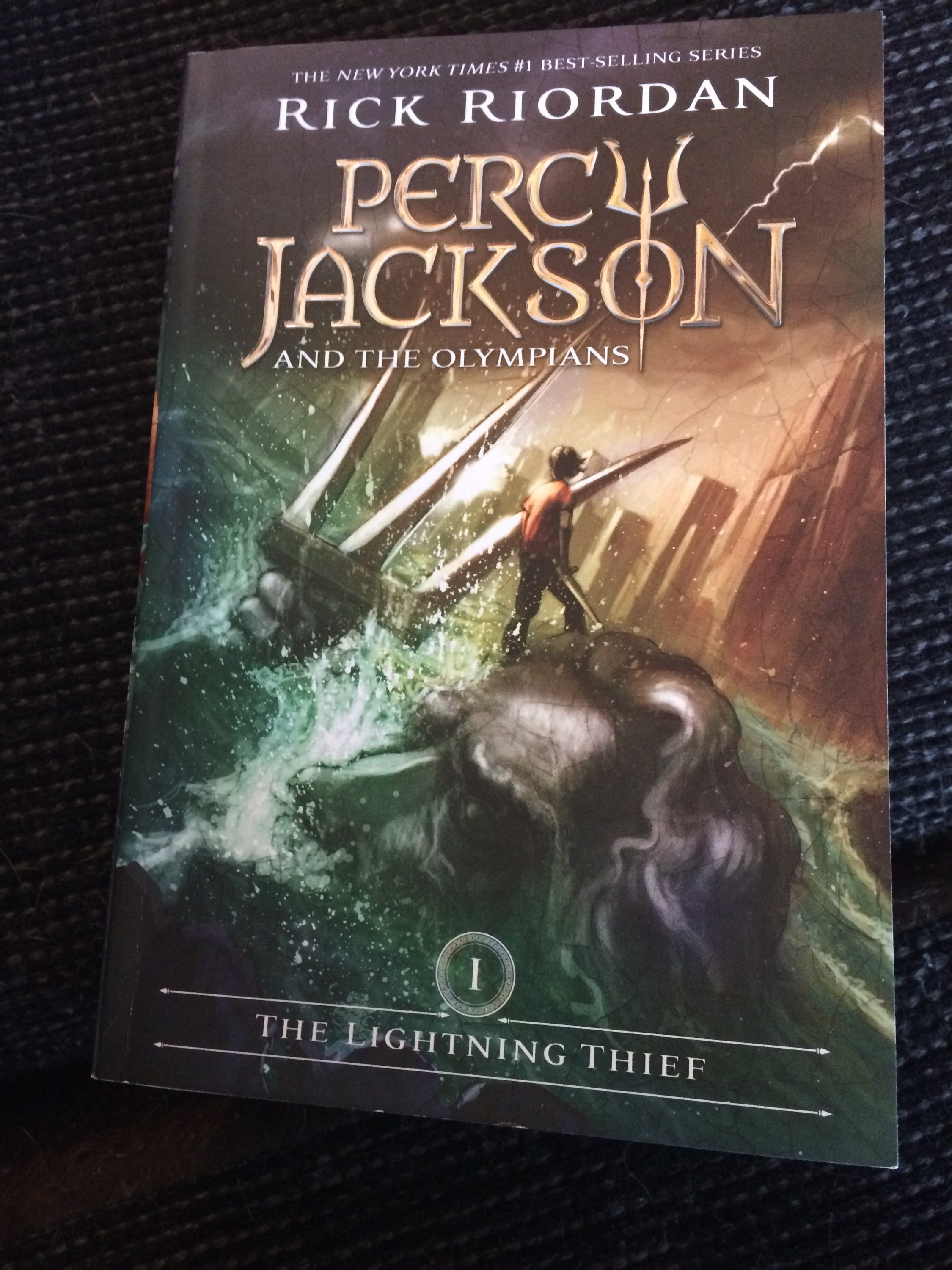 The Lightning Thief By Rick Riordan Book 1 Of Percy