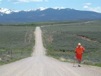 Walking Towards the Rockies