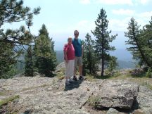 Chris & Val Hammersley in Rocky Mountain National Park