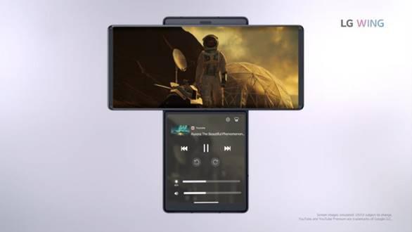 LG WING redefine la usabilidad en el smartphone