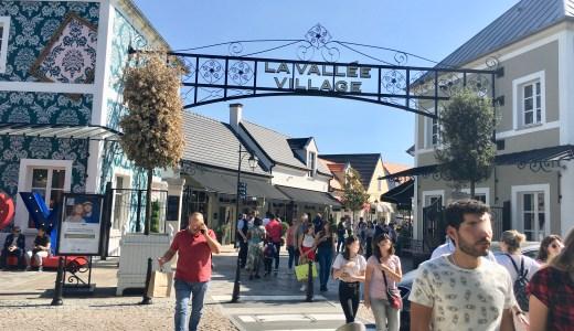 パリのアウトレット ラ・ヴァレ・ヴィレッジでお買い物三昧 パリ随一アウトレット訪問レポート