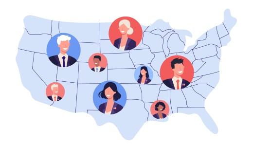アメリカの弁護士数は州ごとに異なります