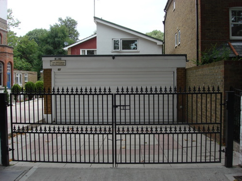 Wrought Iron Driveway Gates Home Depot Rickyhil Outdoor Ideas Aluminum And Wrought Iron