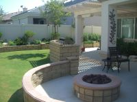 Outdoor Fire Pit Seating Design  Rickyhil Outdoor Ideas ...
