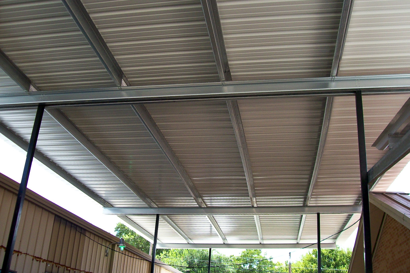 How To Metal Patio Covers Rickyhil Outdoor Ideas