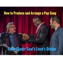 Seal and Trevor Horn at Music Producers Guild Awards