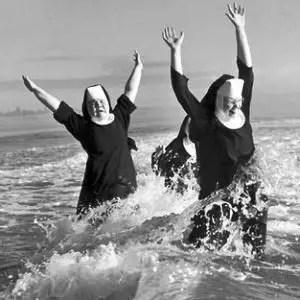 nuns don't use the bidet in italy