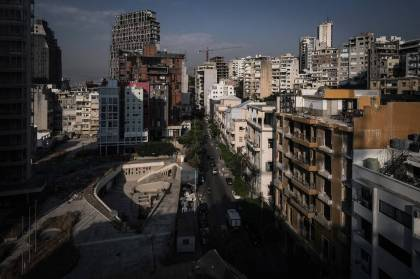 The threatening air of Beirut |  Bounce