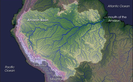 amazon river basin