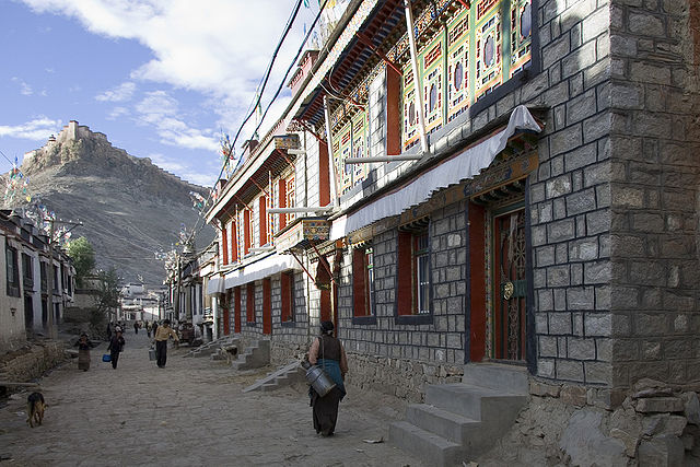 Many elevations in Tibet are above 13,000 feet.