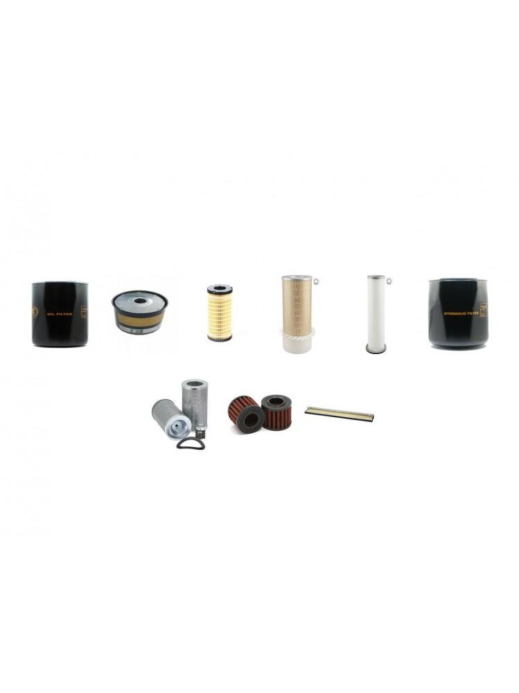 MERLO ROTO 38.16 (S) Filter Service Kit w/Perkins 1104D