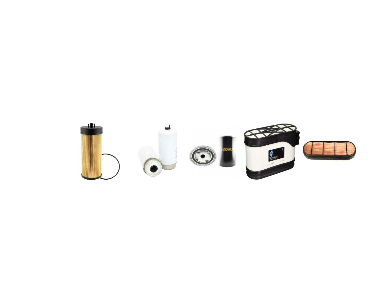 Deutz 625 M Agrotron Filter Kit Air Oil Fuel W Deutz