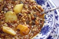 ollica 2 con lentejas y arroz