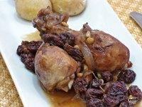 Pollo con pasas