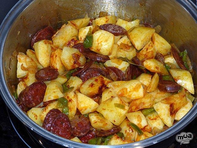 Patatas a la riojana