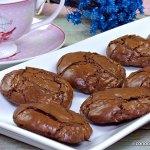 Galletas brownie de chocolate
