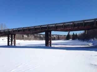 9. Frozen Firebag river_east